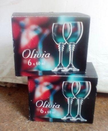 Набор рюмок для водки, ликера: Bohemia OLIVIA