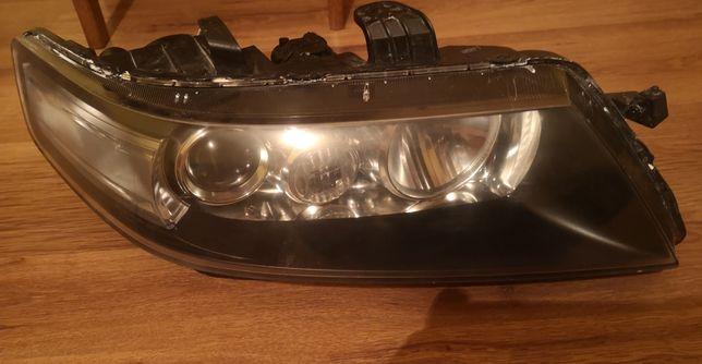 Honda accord vii. Przeróbka lamp z wersji angielskiej na europejska.