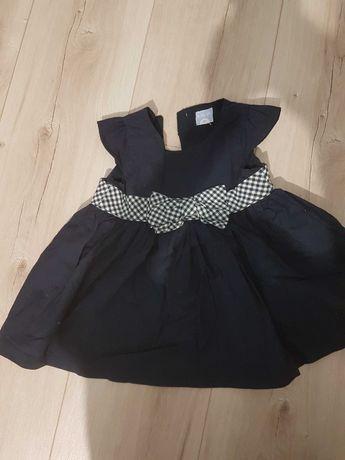 Ubranka dla dziewczynki 62-68 cm, 3-6 m-cy, sukienki, zestawy