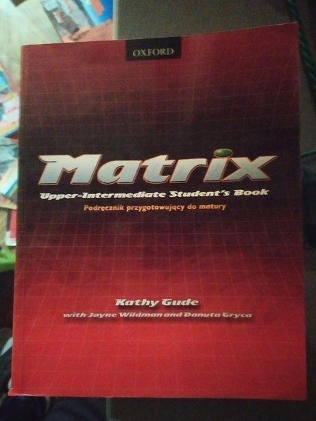Podręcznik Matrix upper - intermediate, do matury , stan prawie ideał