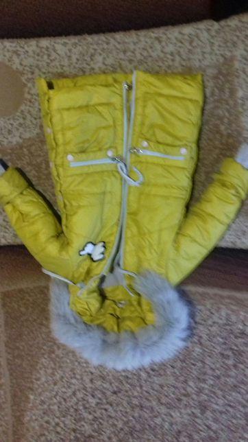 Куртка-парка зимова