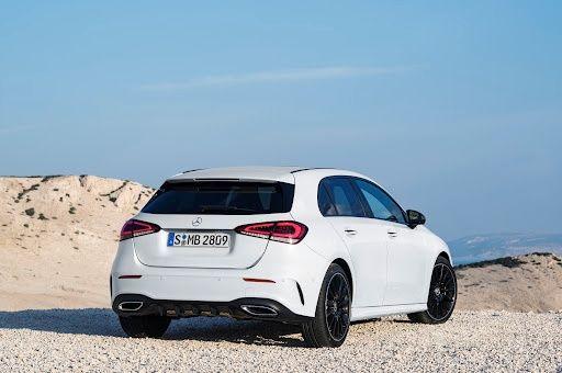 Wynajme do ślubu z kierowcą Mercedes-Benz A220 4Matic 2020