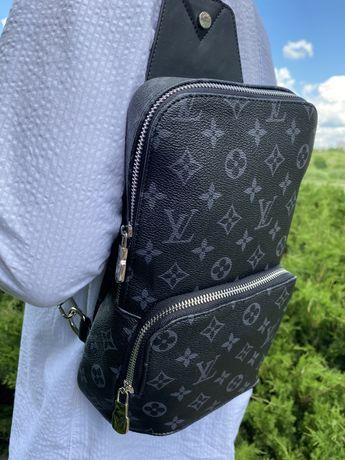 Nerka saszetka na ramie Louis Vuitton skora premium