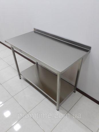 Стол производственный технологический для кухни 1100х600х850