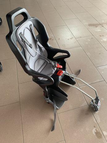 Fotelik rowerowy dla dziecka Okbaby 10+ czarny