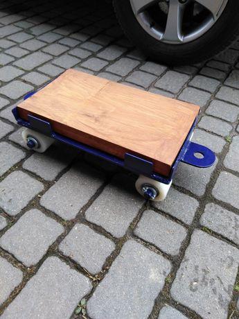 Wózek transportowy solidny do przewozu aut, lawety