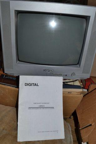 Продам рабочий телевизор Digital без пульта