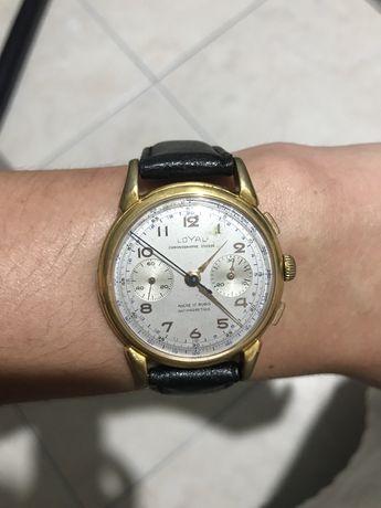 Relógio Loyal Cronografo Landeron 51