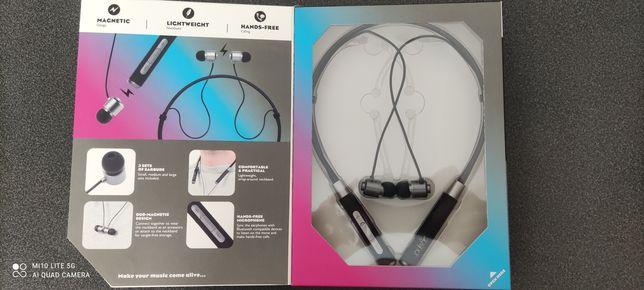 Słuchawki na szyję Pulsar bluetooth magnetyczne