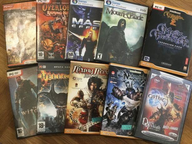 Компьютерные игры на DVD лицензионные