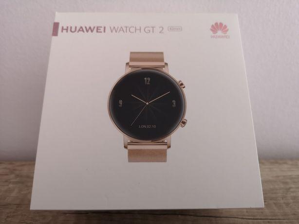 Smartwatch Huawei Watch GT 2 Elegant złoty - NOWY
