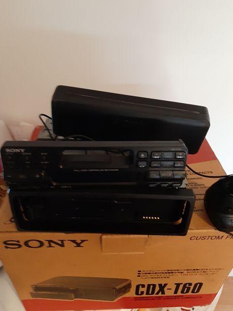 Autoradio Sony com joystick e caixa cd