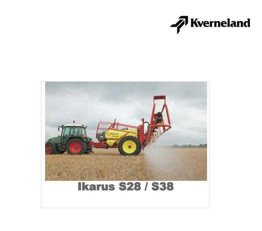 Instrukcja obsługi opryskiwacza Ikarus S 28, S 38 po polsku