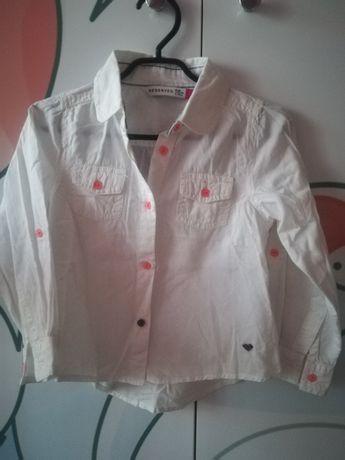 Reserved biala koszula 98