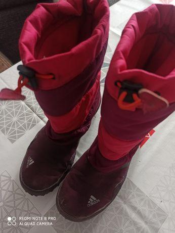 Buty zimowe śniegowce kozaki 37 adidas