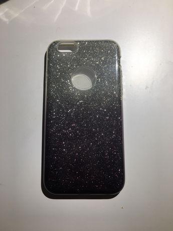 Obudowa / case na iphone 6/ 6s brokatowa