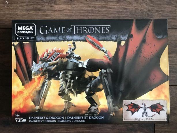 MATTEL GKG97 Mega Construx - Gra o Tron - Daenerys i Drogon - NOWE