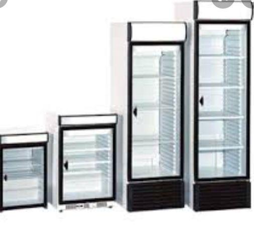 Холодильный шкаф БУ одно двух трех дверный Витрина холодильник