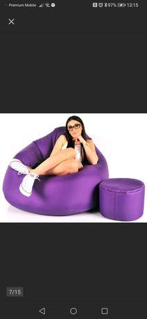 Fotel pufa XXL Typu Sako