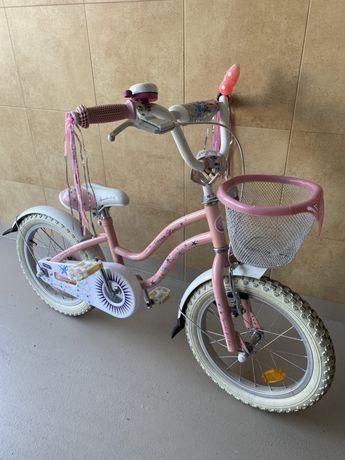 Rowerek dla dziewczynki wiek 4-6 lat