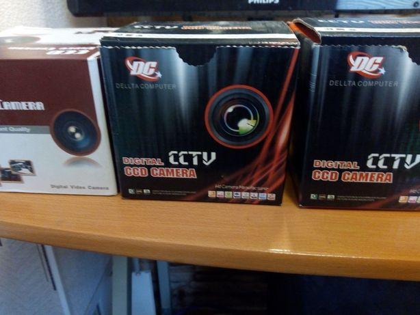 Камеры видеонаблюдения купольные DC. Для подключения к телевизору .