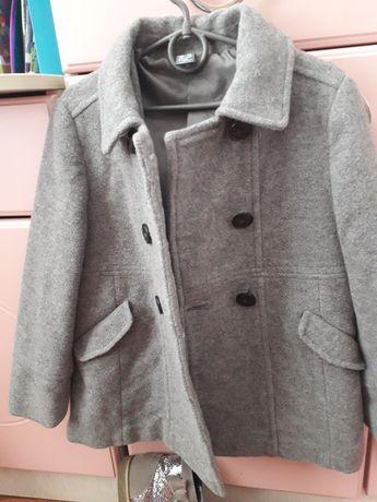 Пальто шерстяное Zara kids, 118 рост,5-6 лет