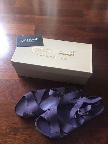 GINO ROSSI r.37 NOWE sandały