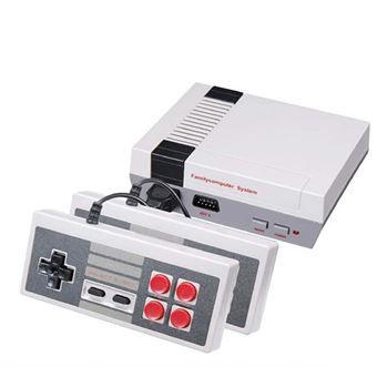 Retro Consola Clássica Mini Klack® | 620 Jogos de Arcade - Cinzento