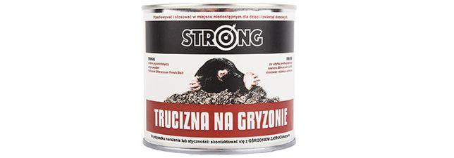 Trutka na kreta i gryzonie Strong Difenacoum Pasta 300g Najmocniejsza