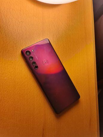Smartphone Motorola Edge 128GB Midnight Red 5G