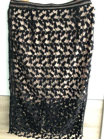 Ołówkowa koronkowa spódnica nowa