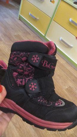ботинки ботиночки термо сапожки B&G