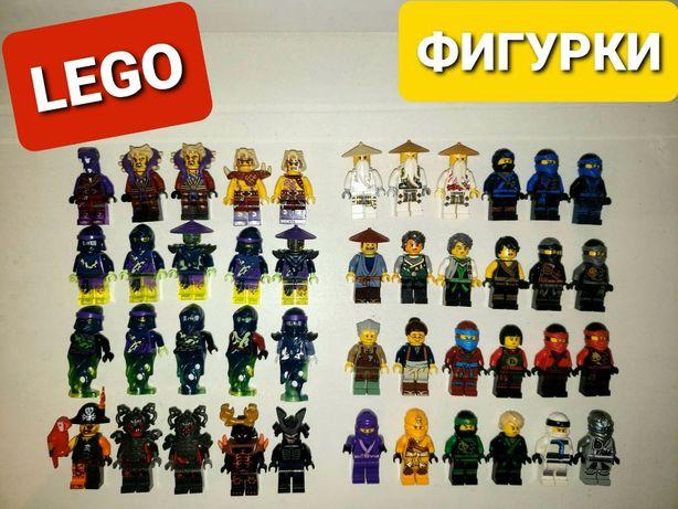 Фигурки LEGO NINJAGO оригинальные MINECRAFT разные сезоны