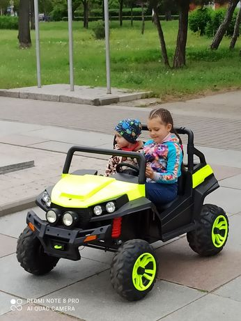 Детский электромобиль, багги (тюнингованный)
