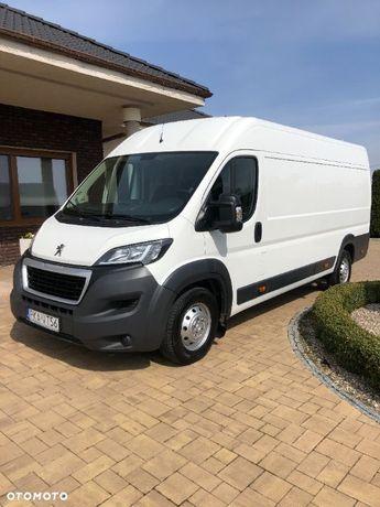 Peugeot BOXER  Salon PL L4 H2 extra długi Duża Nawigacja, bluetooth hak 92000 tyś/km