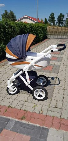 Wózek dziecięcy Adamex Barletta New 2w1 B10