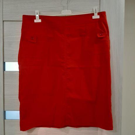 Czerwona spódnica roz.48