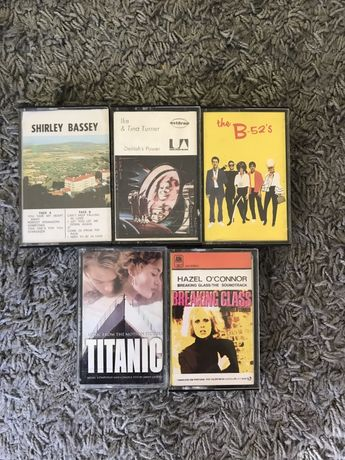 Cassetes K7s Originais