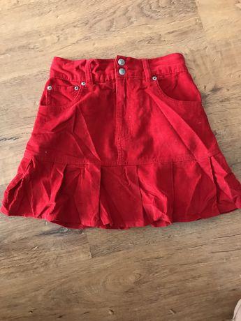 Czerwona spódniczka:)