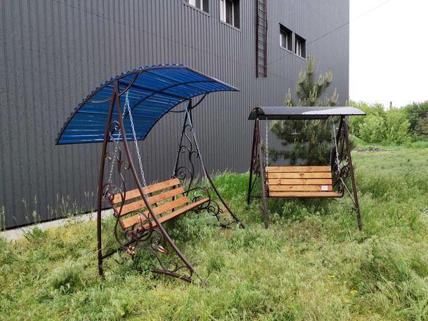 Качель садовая кованая /Бесплатная доставка по адресу/лавка