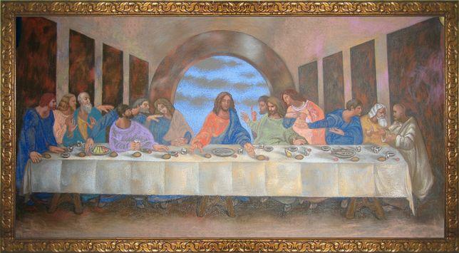 """Картина по мотивам Леонардо да Винчи """"Тайная вечеря"""""""