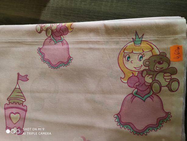 Bawełna pościelowa księżniczki.