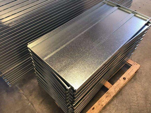 Estante metálica fabricada em INOX