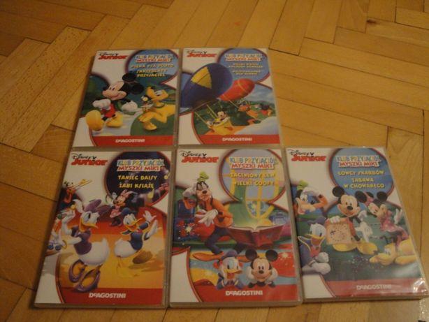 Klub przyjaciół Myszki Miki 5 DVD
