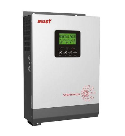Инвертор автономный 3 кВт MUST PV18-3024 VPK Контроллер PWM 50А
