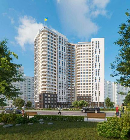 """Продам 1 комн. квартира  в ЖК «67 Жемчужина"""". Рассрочка от 4%. Балкон."""