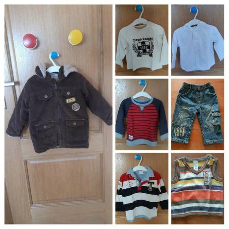 Lote de roupa menino - 1 ano