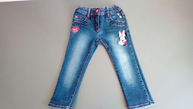 Spodnie dżinsowe C&S rozmiar 92