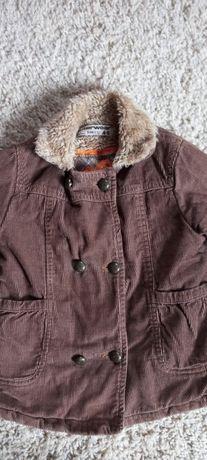 Sztruksowa kurtka dla dziewczynki