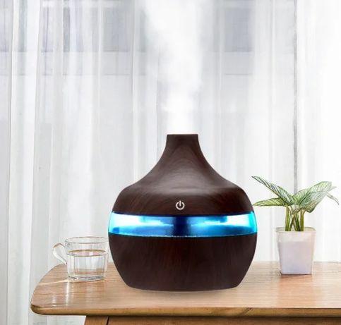 ХИТ ПРОДАЖ!!!Увлажнитель воздуха - аромолампа с LED подсветкой